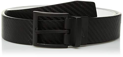 Nike Boys' Big Carbon Fiber Texture Reversible, Black/White, XL