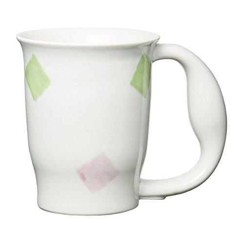 ユニバーサル食器 ウィルアシスト ほのぼのマグカップ 190ml スクエア・721