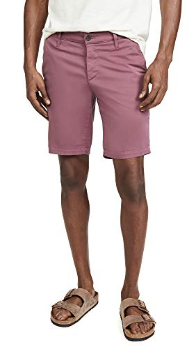 AG Adriano Goldschmied Men's The Wanderer Slim Trouser Short, Moderate Ruby, 32