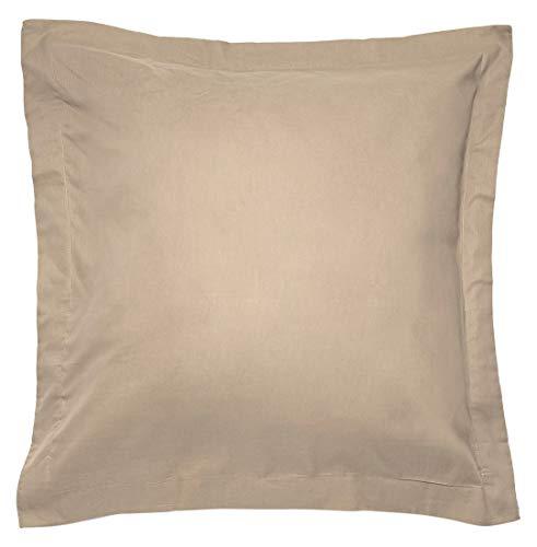 Sancarlos - Combicolor Funda de cojin, 60x60 cm, color marrón