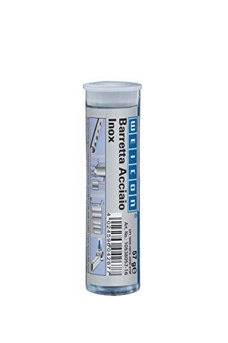 WEICON Barretta Acciaio Inox, 2 Componenti Adesivo Speciale per Acciaio Inox, 57g