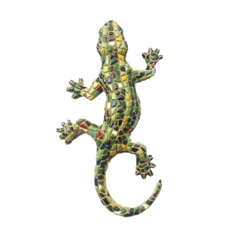 3D Mosaico Gecko Barcellona Spagna Calamita frigo souvenir regalo magnetico Sticker Collection
