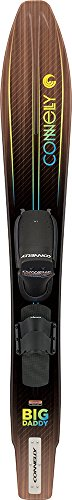 CWB Connelly Big Daddy Waterski, Front Adjustable Binding/Rear Toe Strap