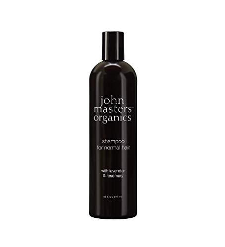 john masters organics Shampoo für normales Haar mit Lavender & Rosemary, 1er Pack (1 x 473 ml)