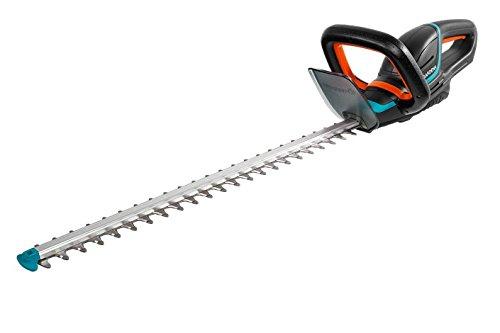 Gardena Akku-Heckenschere ComfortCut Li-18/60: Heckenschneider mit ergonomischem Griff und Anschlagschutz, 60 cm Messerlänge, mit Präzisionsmesser, Lieferung ohne Akku und Ladegerät (9838-55)