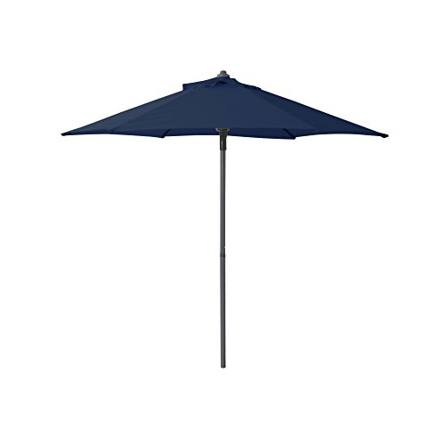 greemotion 438535 Sonnenschirm, Push up 200 cm, 200 x 200 x 200 cm, blau