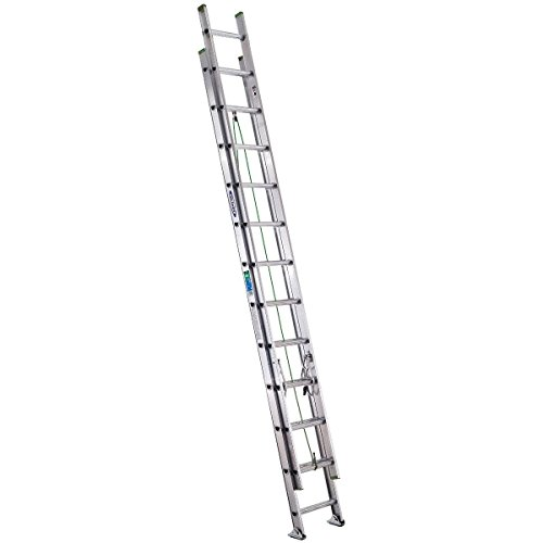Werner D1224-2 Extension-ladders, 24-Foot, Silver