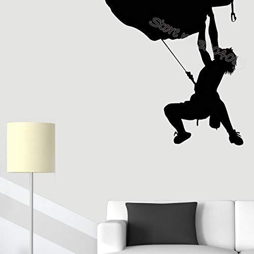 Rotsklimmen patroon muurstickers woonkamer muurschildering jongen tiener kamer binnen buiten decoratie sticker verwijderbare poster 63x63cm