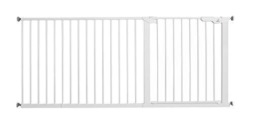 BabyDan Extra Wide / Hallway Pressure Fit Safety Gate, 171.3-177.1 cm / 67.4-69.7-Inch, 9.4 kg