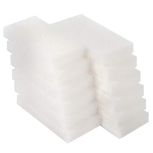LTWHOME Compatible en Mousse Filtres Convient pour Fluval 104/105 / 106(Paquet de 12)