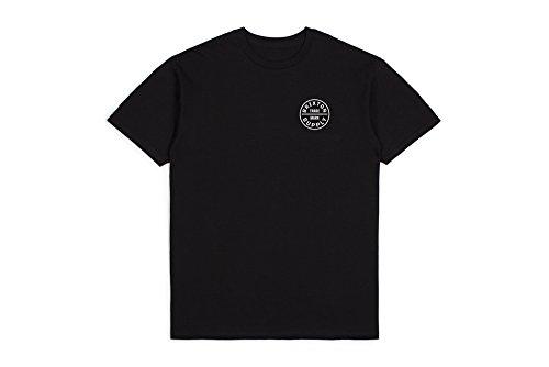 Brixton Herren T-Shirt Oath, Black, M, BRIMTSSOATH