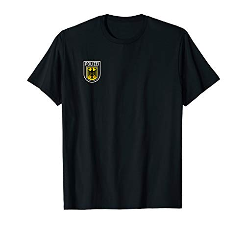 Polizei T-Shirt - Polizeiuniform als Verkleidung oder Dienst