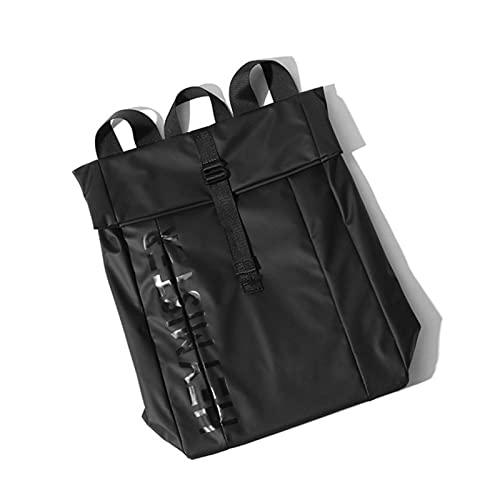 Mochilas para hombre y mujer, bolsa de hombro de nailon, mochila grande para estudiante, impermeable, para adolescente y hombre