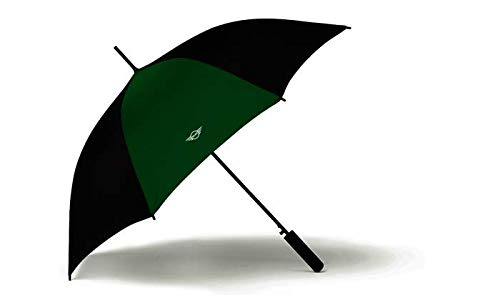 BMW Original Mini Regenschirm Stockschirm Contrast Panel Walking Stick Umbrella British Green - Kollektion 2020