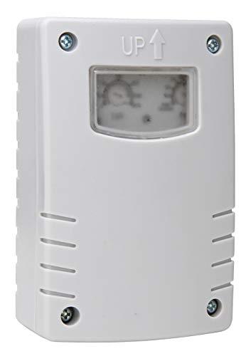 Kopp Dämmerungsschalter mit Zeitschaltuhr, Aufputzmontage, IP44, Farbe weiß, 848002019