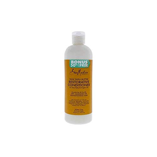 SheaMoisture Raw Shea Butter Restorative for Dry, Damaged Hair Conditioner For...