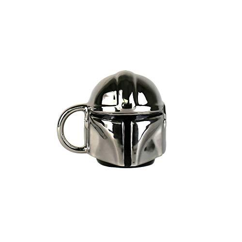 Half Moon Bay MINMSW12 Mini taza de Star Wars – El mandalorian, cerámica