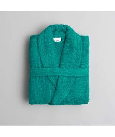 10XDIEZ Albornoz Colors Verde - Medidas Albornoces - M (
