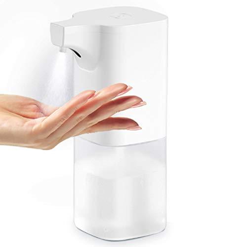 Yuning Dispensador Automático de Alcoholsin, Dispensador Automático de Alcohol con Sensor, para el hogar, la Oficina, el Hotel, el Hospital (350 ml)