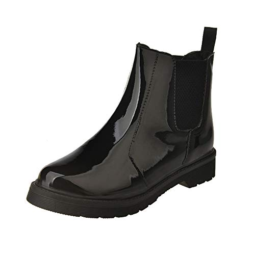 Buy Bargain Londony ♥‿♥ 2018,Women's Shiny Short Rain Boots Waterproof Slip On Ankel Waterproo...