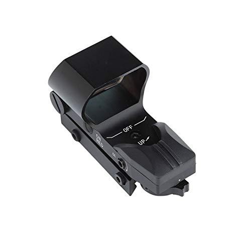 Zhji Red Dot Sight holográfica táctico del Alcance del Rifle Desmontable retículo Ajustable para el Montaje del Carril 20mm Picatinny Cubrir y para la Caza Ballesta