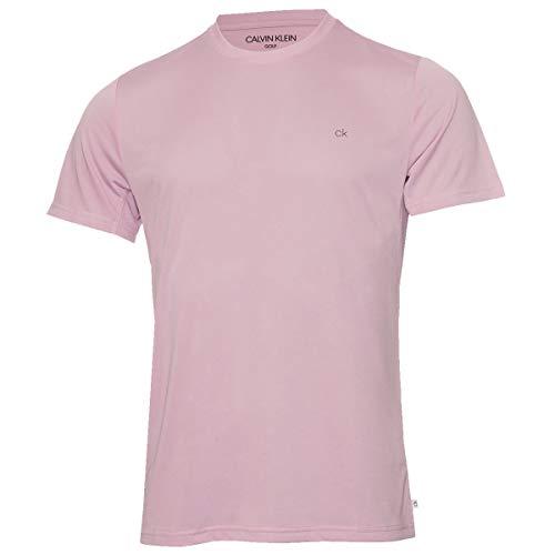Calvin Klein Hombre Harlem Cuello de la tripulación Camiseta - Morado - XL
