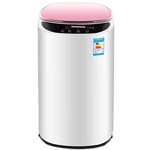 Mini-wasmachine, volautomatisch, draagbaar, voor uitspoelen op de camping, mini-wasmachine, druppeleffect, mini-wasmachine, druppeleffect, klein, capaciteit 350 W, 5,6 kg