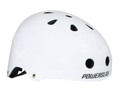 Powerslide Helm Allround, Weiß, S/M (54-58 cm)