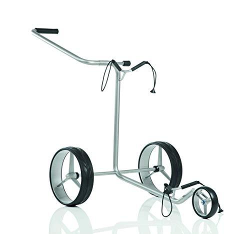 JuCad - Zieh-Golfcarts in silber, Größe 3-rädrig