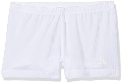 Odlo Lot de 2 Culottes Active Cubic Light - pour Femme - Blanc Neige - XXL