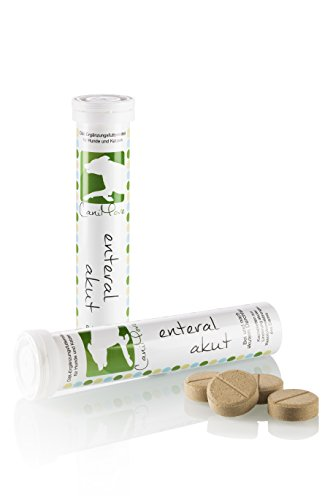 CaniMove Doppelpack enteral akut, 2 x 12 Tabletten zur Gabe bei und nach akuten Durchfällen, für Hunde und Katzen geeignet