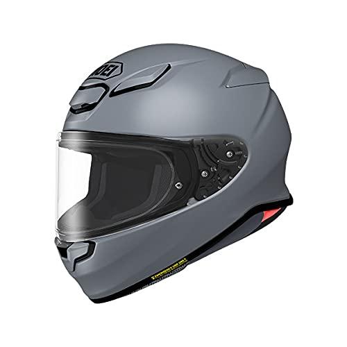 SHOEI ヘルメット Z-8 新型 フルフェイス Z8 バイク メンズ レディース かっこいい おしゃれ シンプル 単色 公道 ツーリング 通販 カラー:バサルトグレー サイズ:M