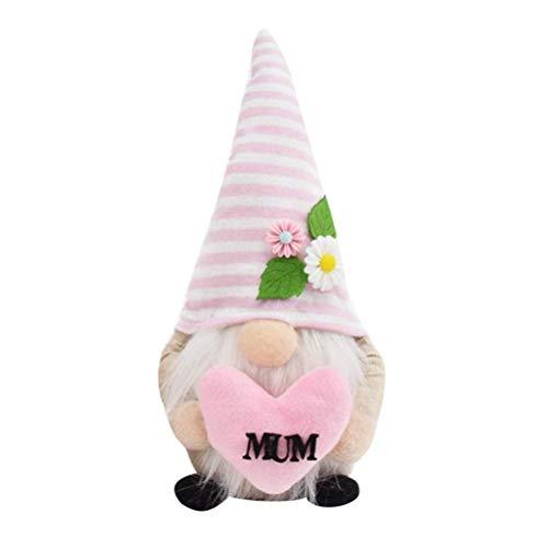 Dunmo Gnomo de Pascua Gnome Felpa Corazón Mejorar la Atención de los Niños Observación Capacidad Cognitiva Día de la Madre Regalo de Pascua Para Padres-Hijo Juegos Anual Reunión Boda