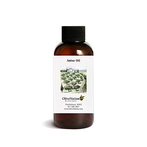 Pure Anise Oil by OliveNation - Use for Delicious Hard Candy, Chocolates and More - Size of 4 oz