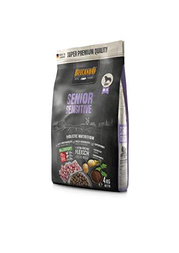 Belcando Senior Sensitive [4 kg] Hundefutter   Trockenfutter für ältere & empfindliche Hunde   Alleinfuttermittel für ältere Hunde Aller Rassen