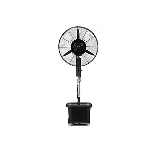 QINGZHUO Ventilador Turbo,Ventilador De Pedestal Oscilante De 90 °,Tanque De Agua De Gran Capacidad De 42 L, para Viajes,Acampar Al Aire Libre Y Otros Espacios Al Aire Libre.