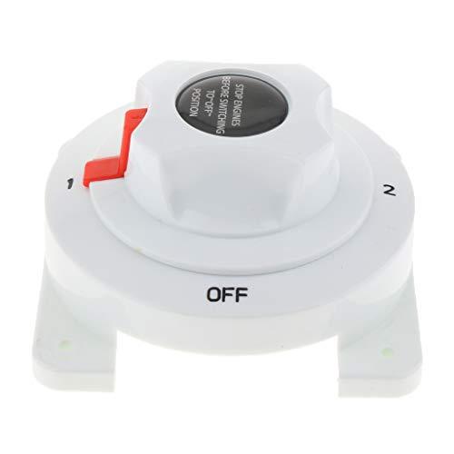 perfk Interruptor de Selección Aislador de Dual Baterías para Coche Auto