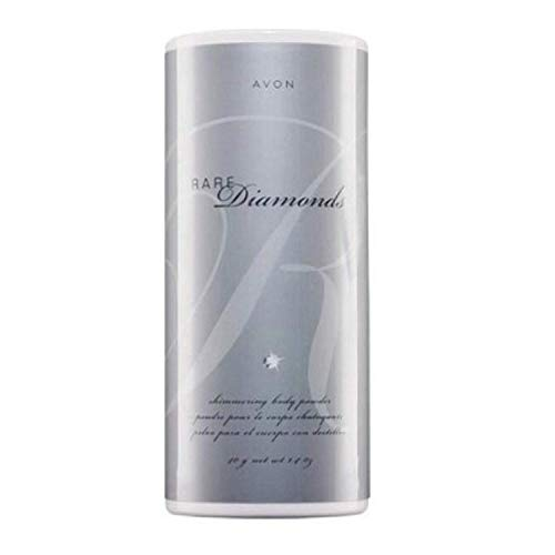 Avon Rare Diamonds Shimmering body powder talc 1.4 oz