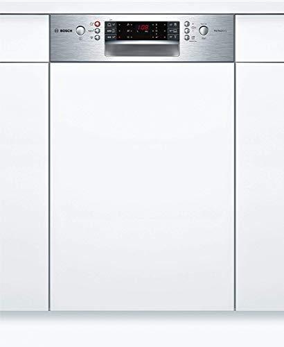 Bosch SPI66TS01E Serie 6 Geschirrspüler Teilintegriert / A+++ / 45 cm / Edelstahl / 188 kWh/Jahr / 10 MGD / SuperSilence / EmotionLight / VarioSchublade Pro