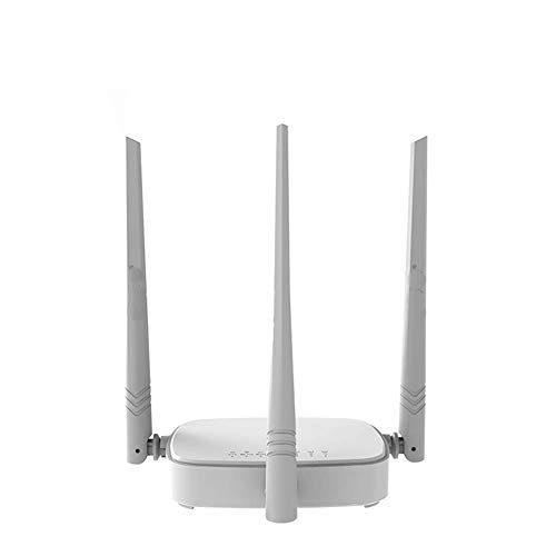 ZUZU Wireless WiFi Router WLAN Repeater, Multi Language Firmware, Router/WISP/Repeater/AP-Modus, 1WAN + 3LAN RJ45 Ports