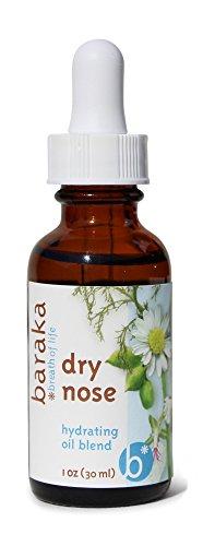 Baraka Dry Nose Nasal Moisturizer w/ 4 Organic...