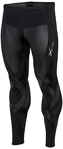 [シーダブリューエックス/ワコール] スポーツタイツ ジェネレーターモデル (ロング丈) 吸汗速乾 UVカット メンズ ブラック 日本 S (日本サイズS相当)