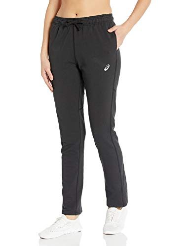 ASICS Pantalón Deportivo para Mujer, Mujer, Pantalones de chándal, Ref!, Negro, XL