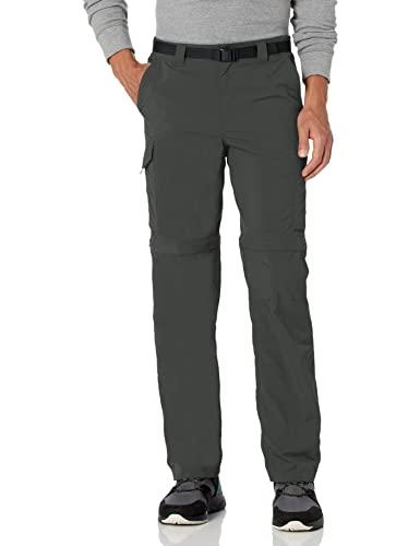 Columbia Silver Ridge Convertible Pants AM8004 Pantalón, Hombre, Gris (Grill), 40