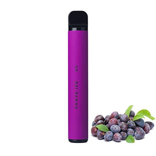 DrafTor Cigarette Electronique pas Cher, Saveur de Fruits, ABS VAPE, Jusqu'à 1000 Souffles, Cadeau, 10 Saveurs, Sans Nicotine(raisin)