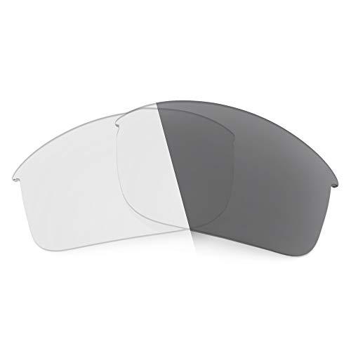 Revant Ersatzgläser für Oakley Sliver Edge (Asiatische Passform) - Kompatibel mit für Oakley Sliver Edge (Asiatische Passform), Nichtpolarisiert, Adapt Grau Photochromic
