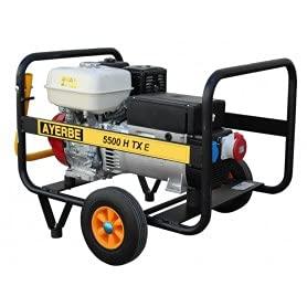 Ayerbe AY-8000-H-TX Generador, 6400W