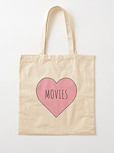 Genérico Addiction Shows TV Horror Addict Series FI Movies Sci Romantic Love   Bolsas de lona con asas de algodón duradero