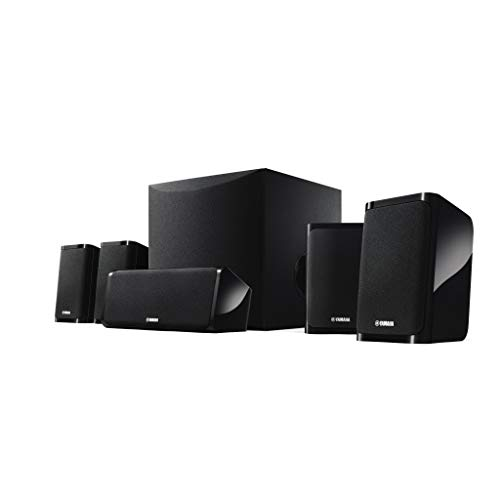 Yamaha NSP41 - Set di Altoparlanti Homecinema 5.1, Colore: Nero