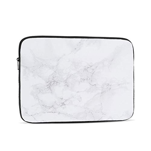 3D Printed Lightweight Marble 17 Laptop Sleeve Case,12 Inch Laptop Bag for Women,Computer Bag for Netbook